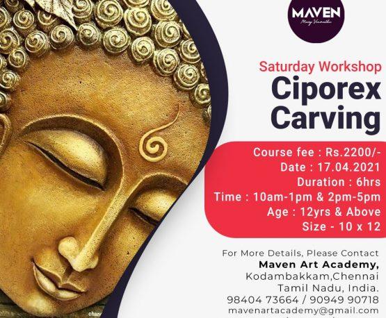 Ciporex Carving - 17.04.2021